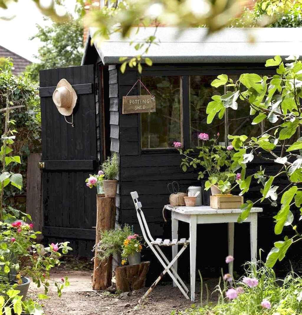 Smart garden shed organization ideas 32