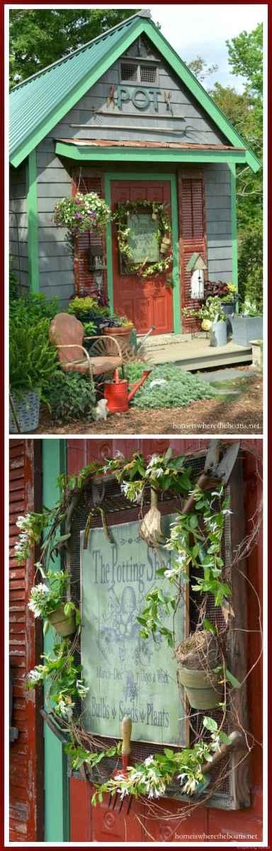 Smart garden shed organization ideas 39