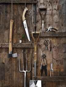 Smart garden shed organization ideas 40