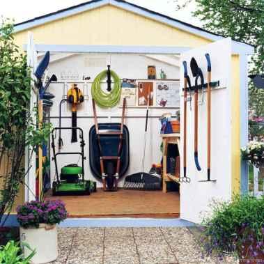 Smart garden shed organization ideas 43