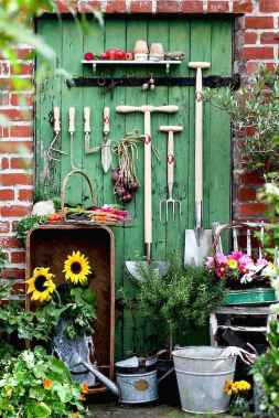Smart garden shed organization ideas 44