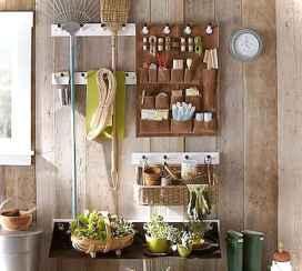 Smart garden shed organization ideas 45