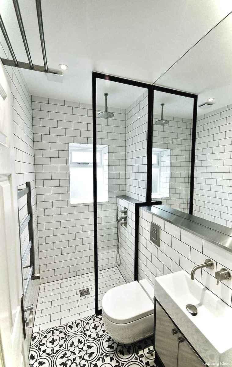 22 black and white bathroom design ideas