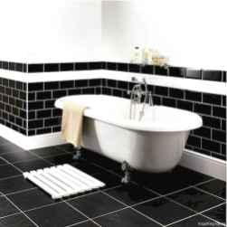 30 black and white bathroom design ideas