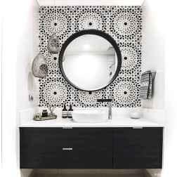 31 black and white bathroom design ideas
