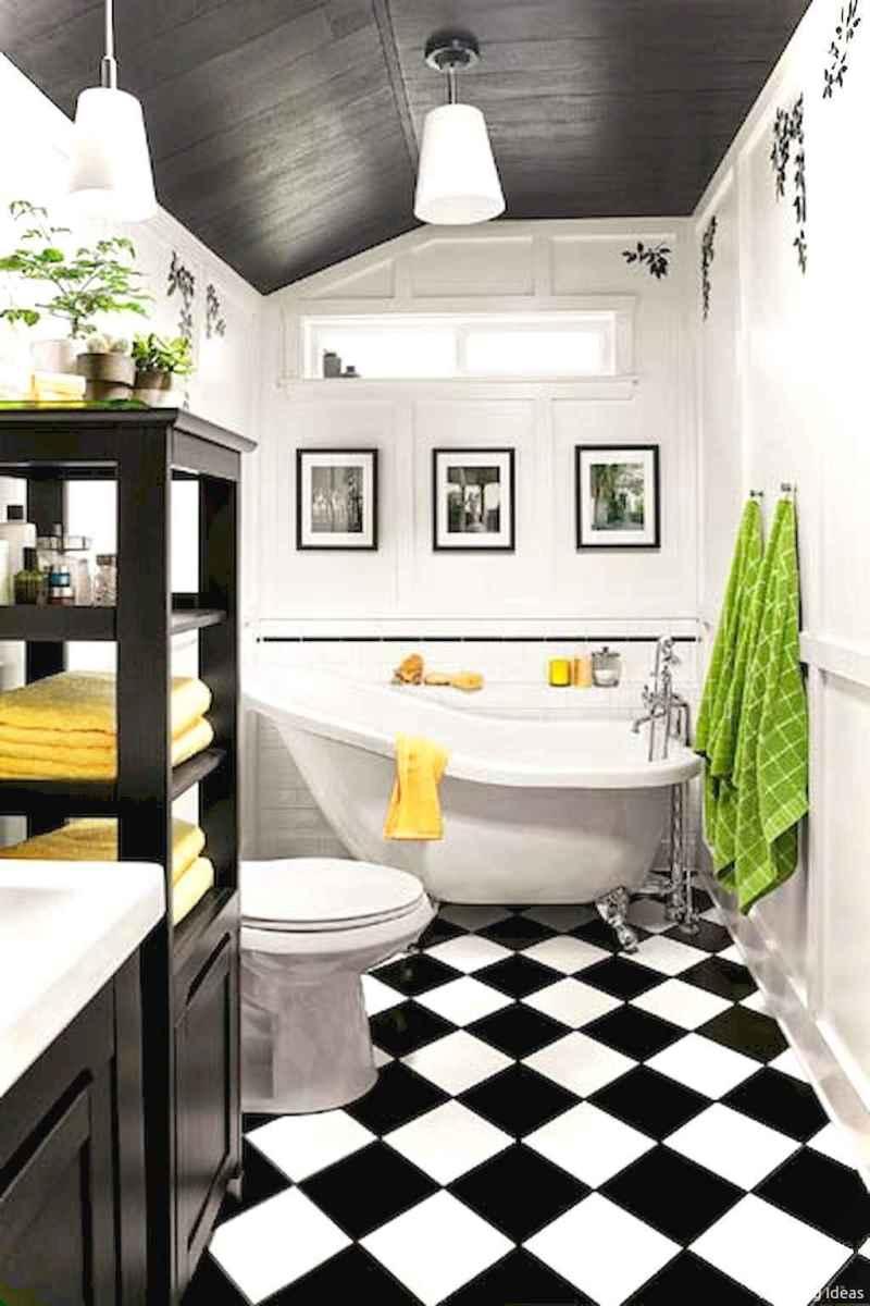 35 black and white bathroom design ideas