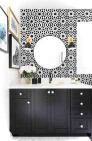 50 black and white bathroom design ideas