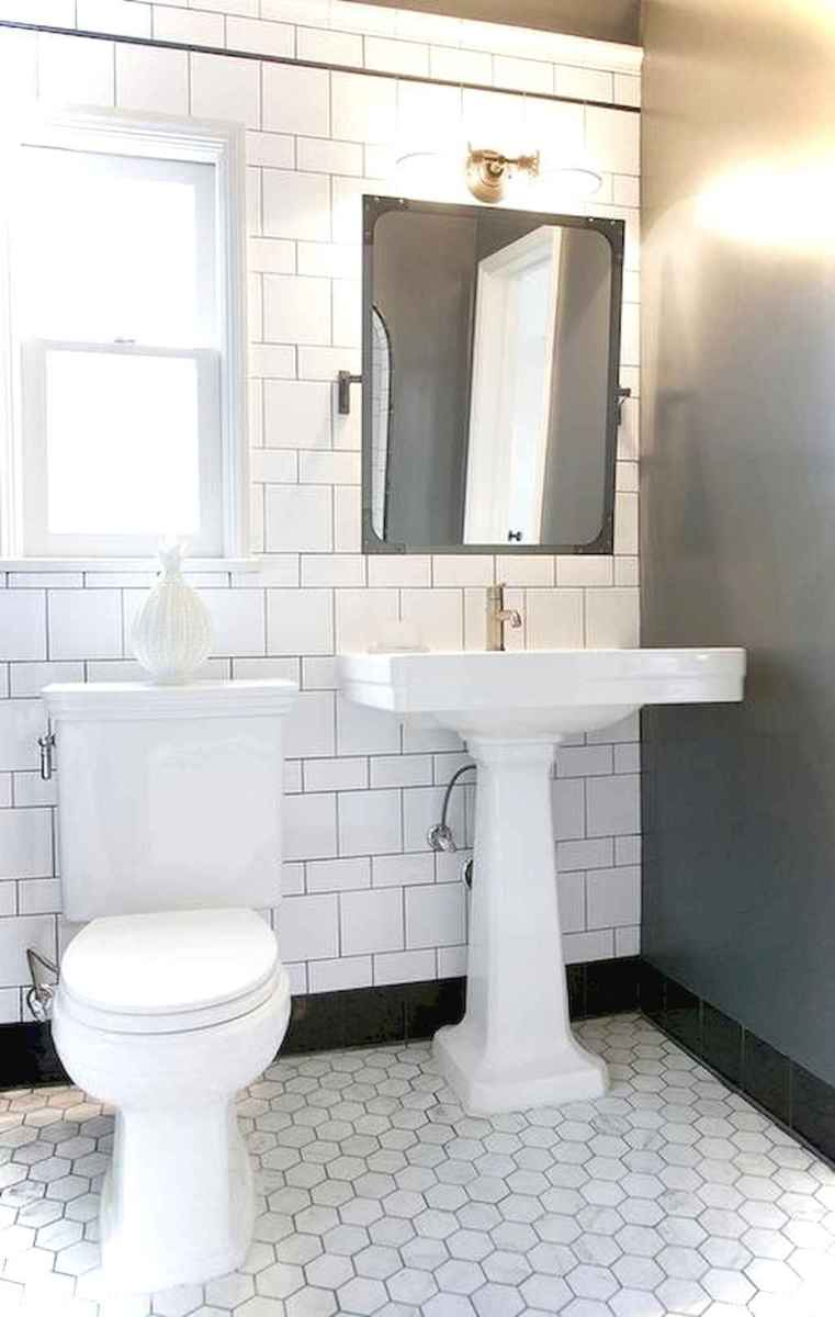 51 black and white bathroom design ideas
