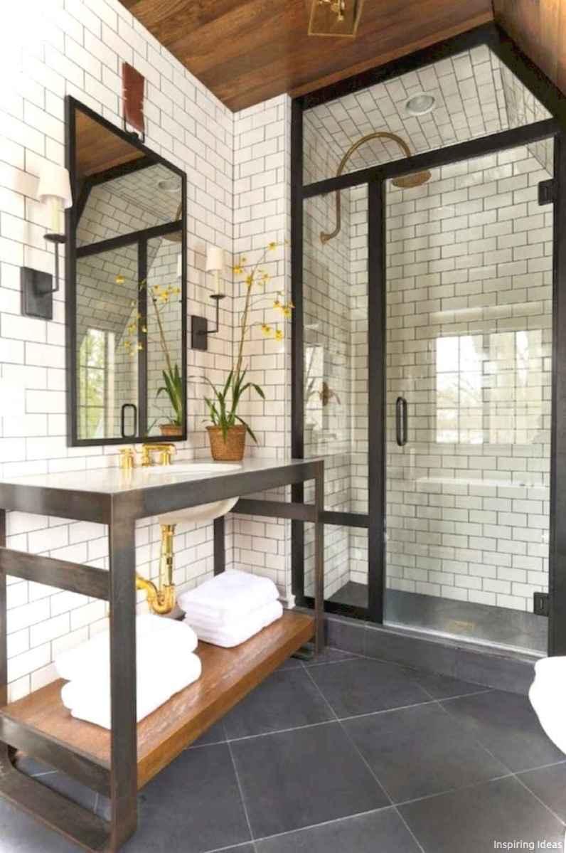 55 black and white bathroom design ideas
