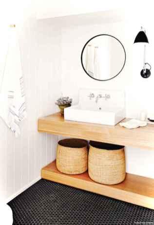 57 black and white bathroom design ideas