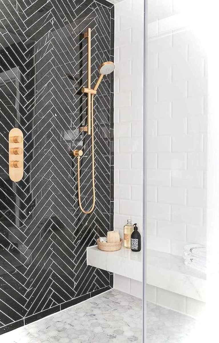 64 black and white bathroom design ideas