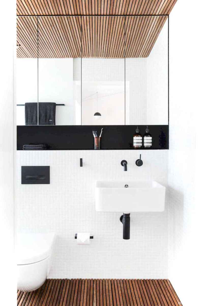 67 black and white bathroom design ideas