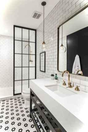 70 black and white bathroom design ideas