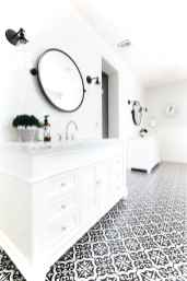 87 black and white bathroom design ideas