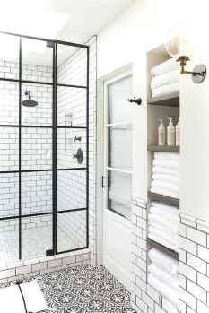 89 black and white bathroom design ideas