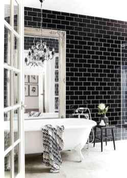 90 black and white bathroom design ideas