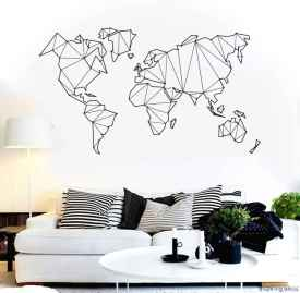 Artsy wall painting ideas for your home 06