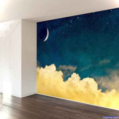 Artsy wall painting ideas for your home 25
