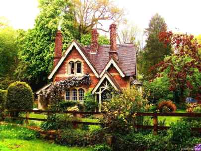 Charming 05 small cottage house exterior ideas