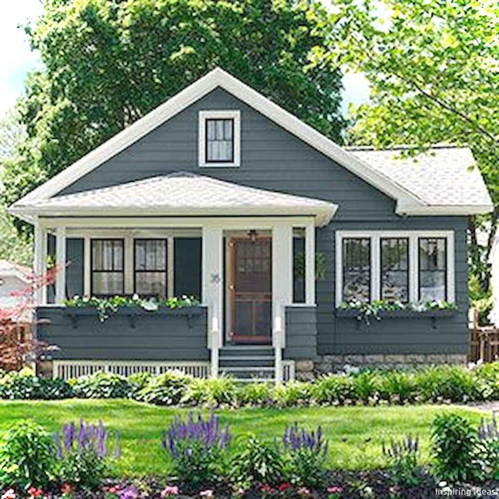 Charming 13 small cottage house exterior ideas