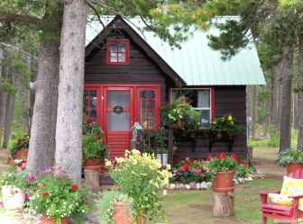Charming 29 small cottage house exterior ideas