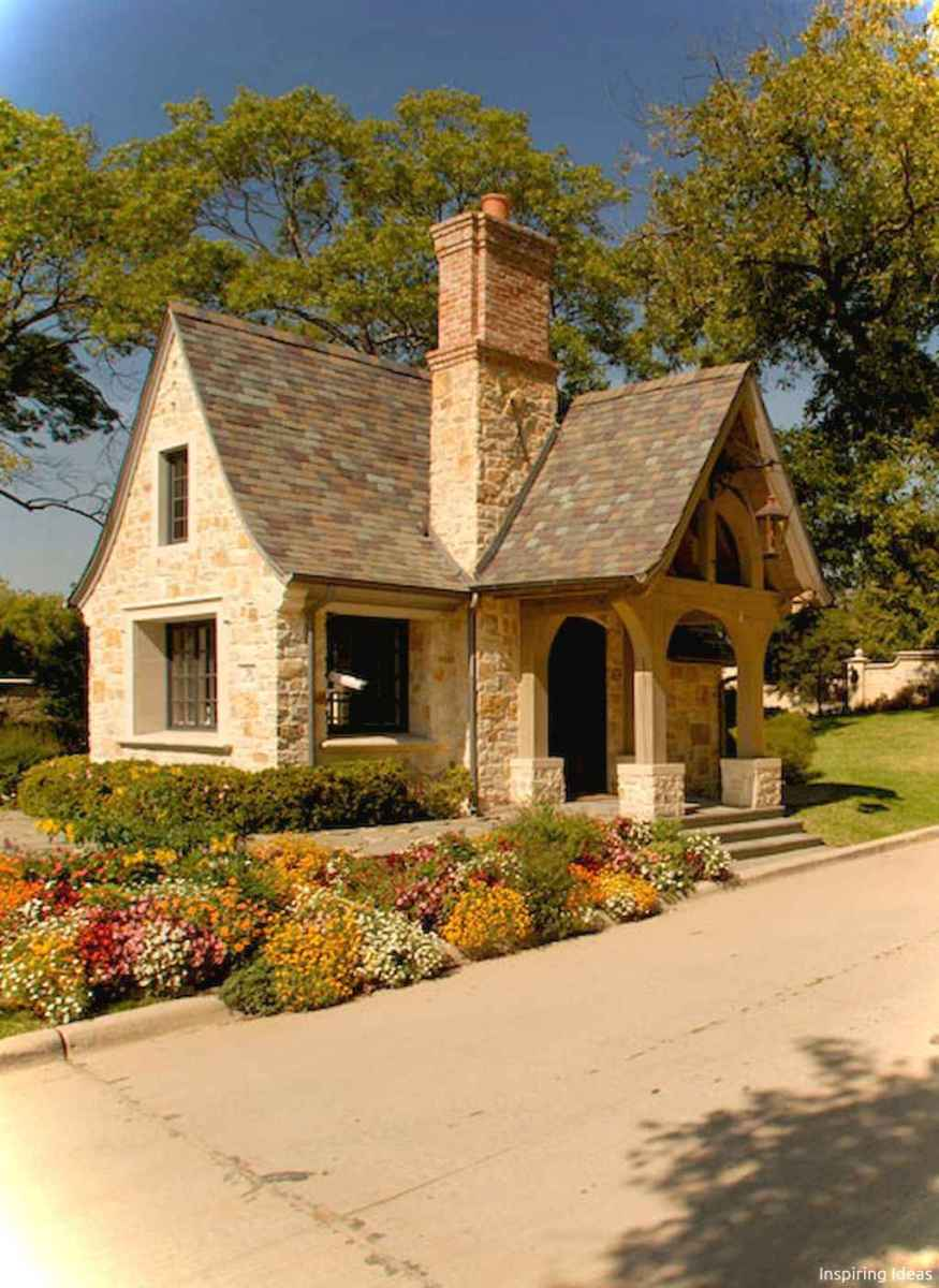 Charming 41 small cottage house exterior ideas