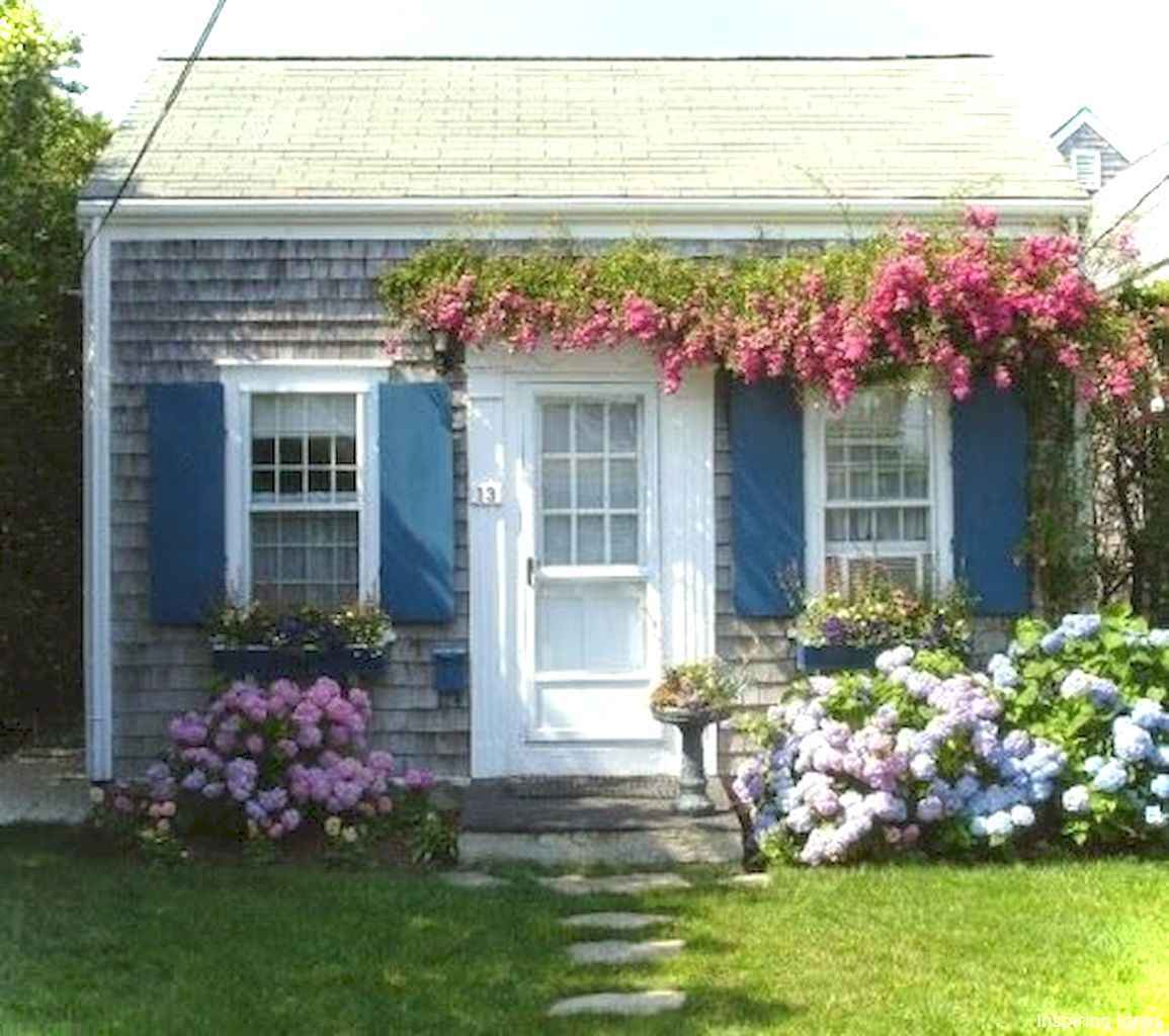 Charming 42 small cottage house exterior ideas