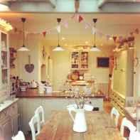 Genius small cottage kitchen design ideas045