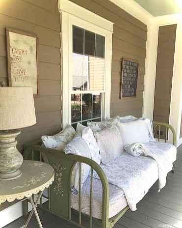 Vintage front porches furniture ideas 19