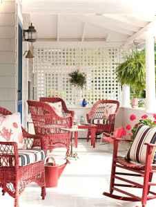 Vintage front porches furniture ideas 26
