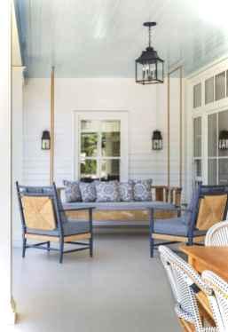 Vintage front porches furniture ideas 44