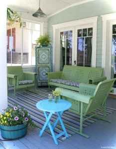 Vintage front porches furniture ideas 6