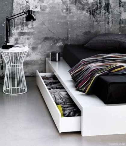 10 genius rustic storage bed design ideas