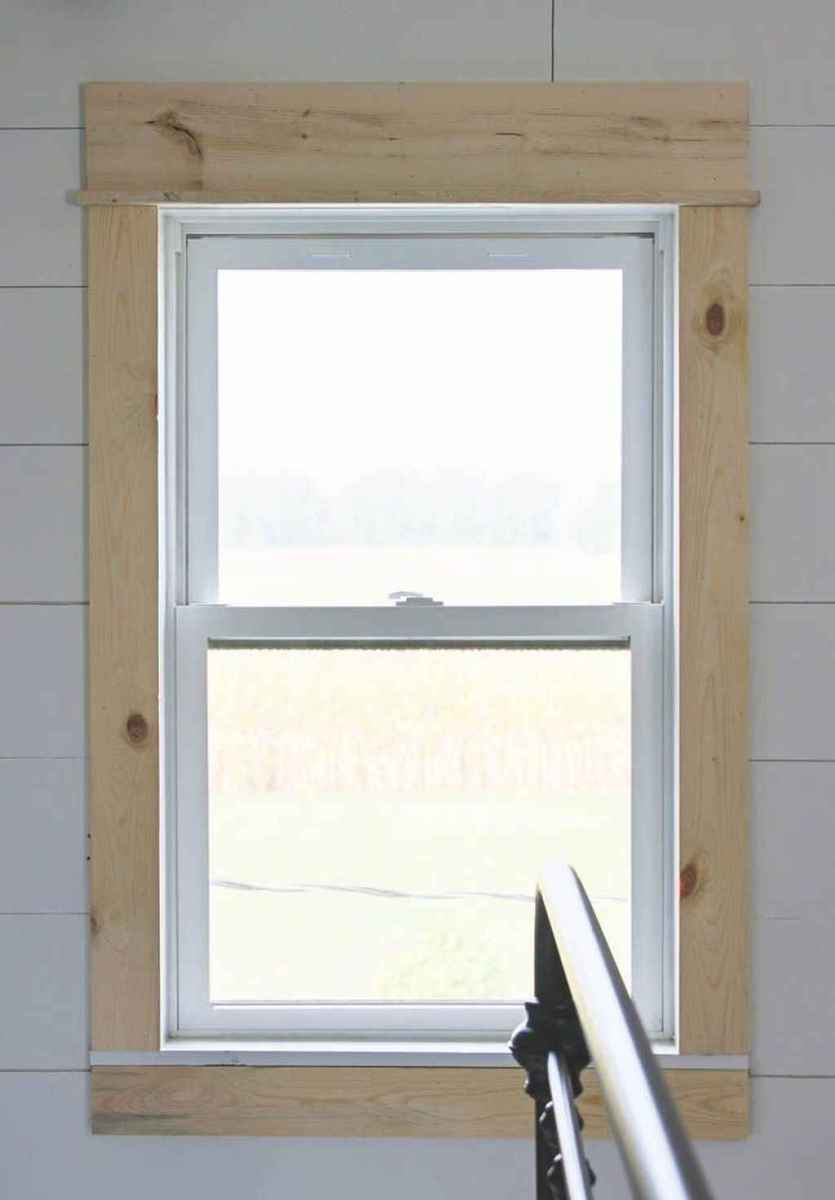 10 modern rustic window trim ideas