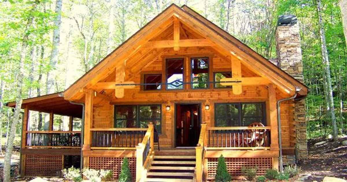 105 rustic log cabin homes design ideas