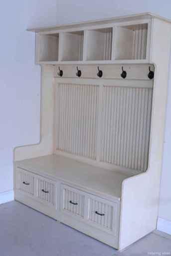 107 inspiring mudroom bench design ideas