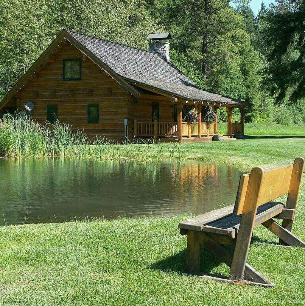 11 rustic log cabin homes design ideas