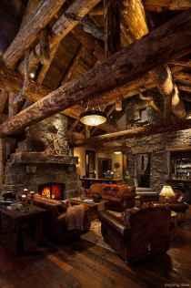 115 rustic log cabin homes design ideas