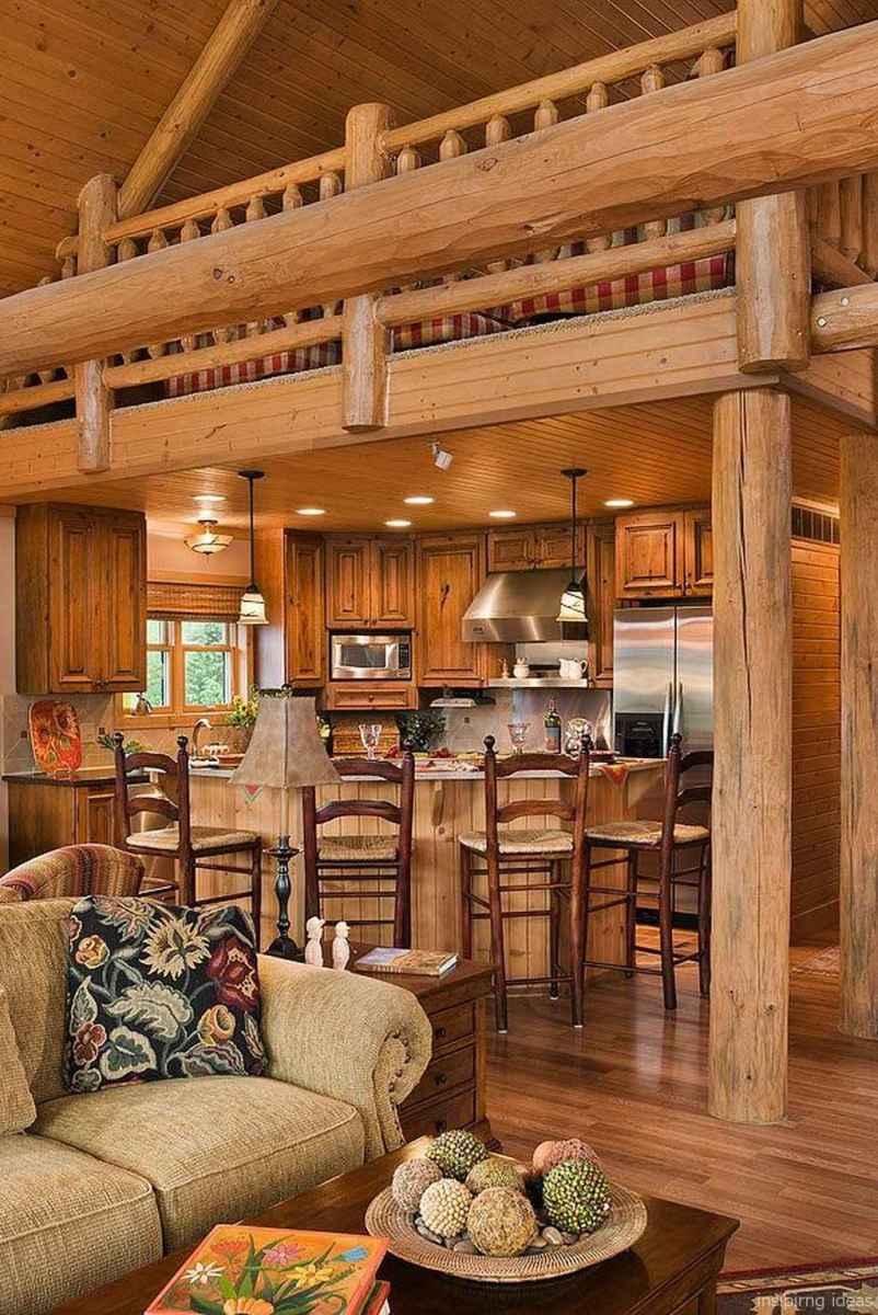 121 rustic log cabin homes design ideas