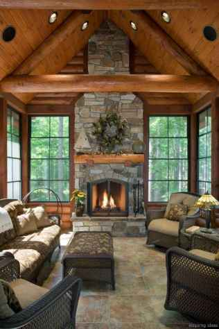 130 rustic log cabin homes design ideas