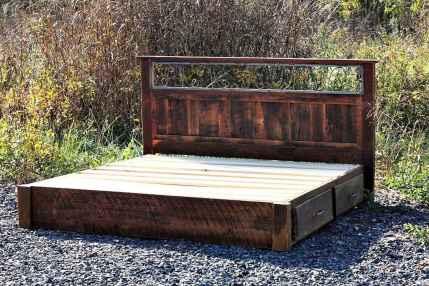 21 genius rustic storage bed design ideas