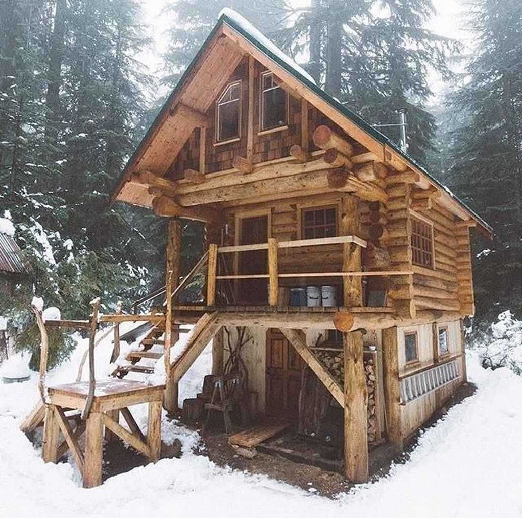 21 rustic log cabin homes design ideas
