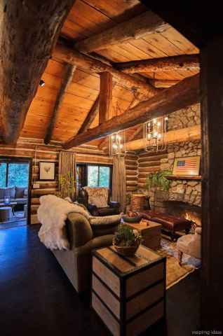 26 rustic log cabin homes design ideas
