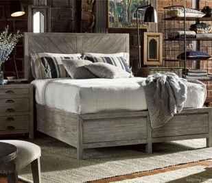 28 genius rustic storage bed design ideas