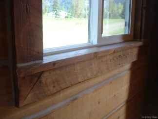 34 modern rustic window trim ideas
