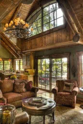 34 rustic log cabin homes design ideas