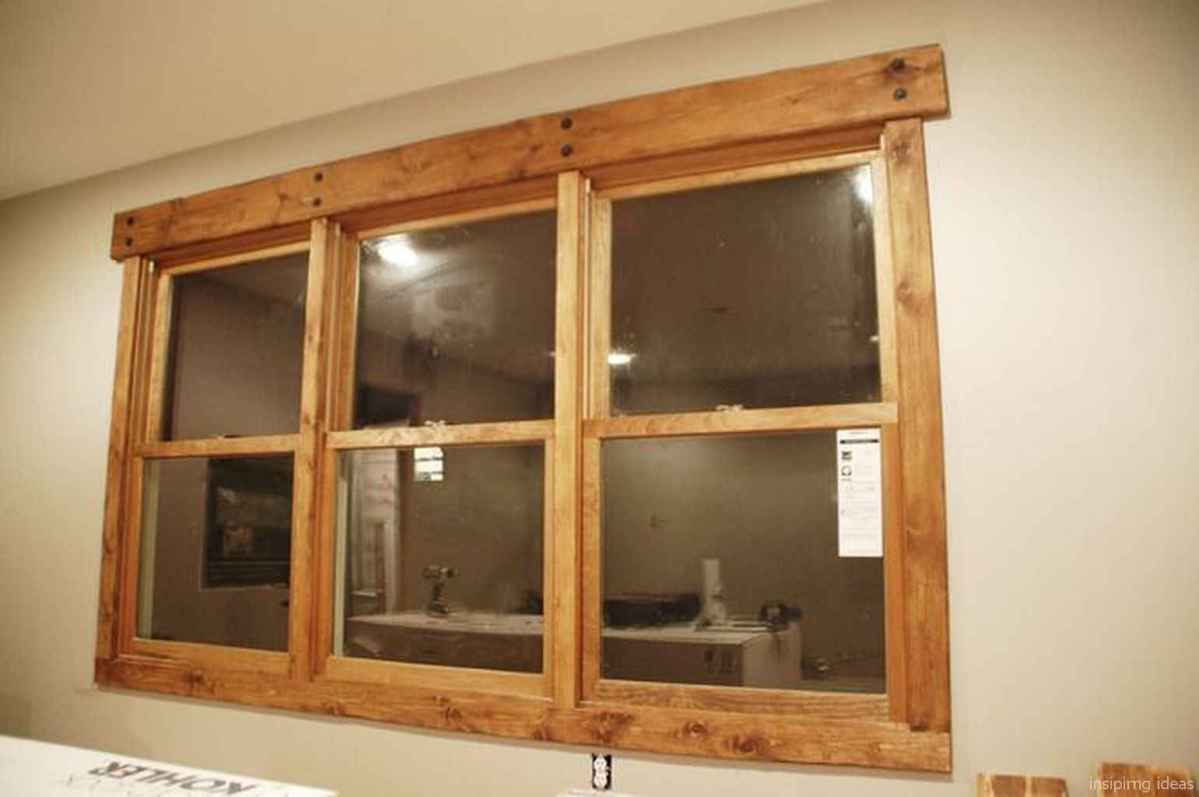 35 modern rustic window trim ideas