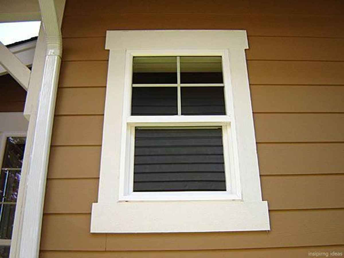 37 modern rustic window trim ideas
