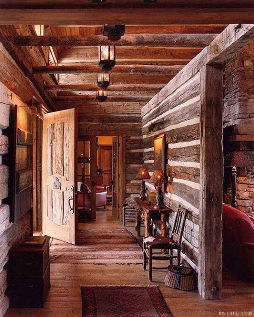 37 rustic log cabin homes design ideas