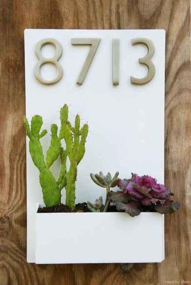 38 awesome diy modern address plate design ideas